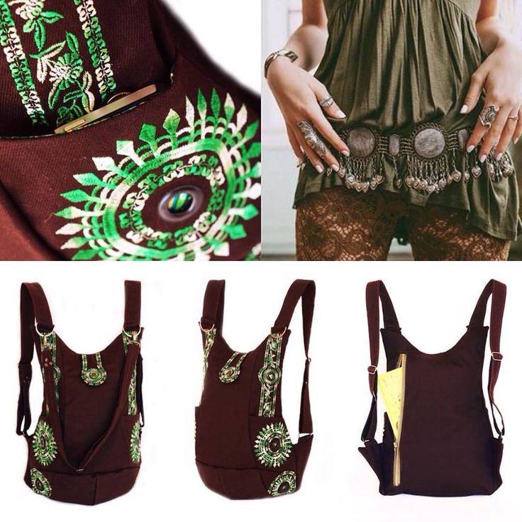 """Хлопковый рюкзак """"Ethnic""""от Мастерской БО. Аксессуар выполнен из плотного хлопка с красивой вышивкой меланжевыми нитками. Рюкзак имеет два внешних боковых кармана и один внутренний кармашек на молнии. Благодаря наличию съемного плечевого ремня, рюкзак можно носить, как сумку. В этой модели плечевые ремни регулируются по длине.🙌🎒 #МастерскаяБО #workshop_bo #рюкзак #кожаныирюкзак #рюкзакизкожи #рюкзакизхлопка #хлопковыйрюкзак #backpack #рюкзакназаказ #handmade #рюкзакручнойработы #подарок"""