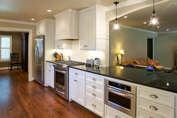 Open Galley Kitchen Designs 28+ [ opening up a galley kitchen before and after ] | 1000 ideas