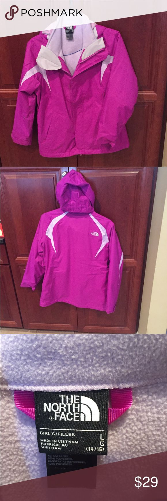 Northface winter jacket Girls jacket  Non smoking home Great condition Northface Jackets & Coats