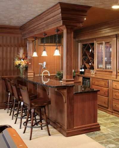 Bar Ideas For Finished Basement Bars And Interior Themes Home