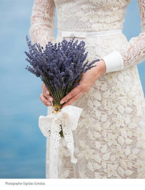 Idėja temai: levandinės vestuvės  