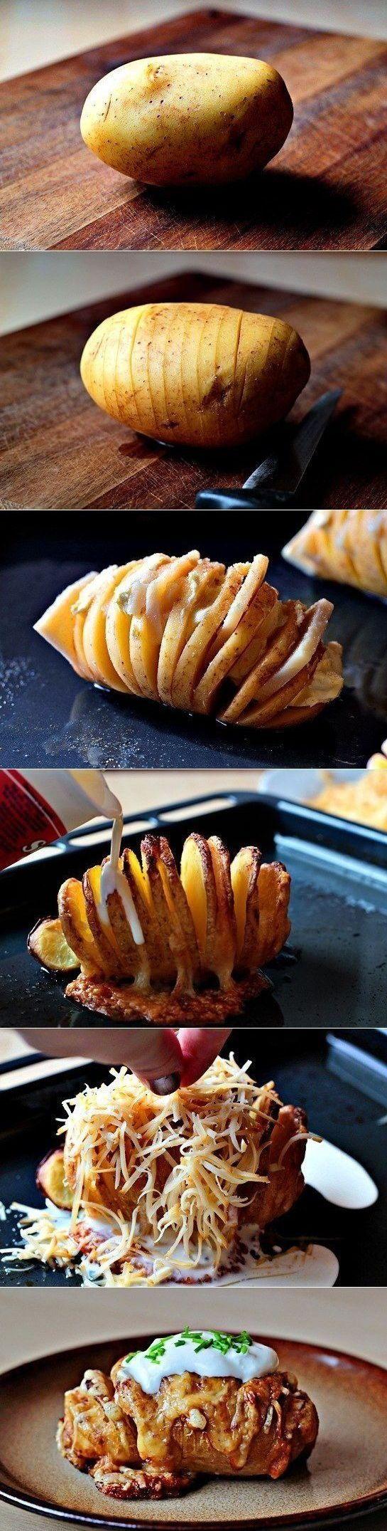 Tasty Way To Bake A Potato