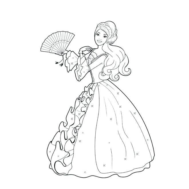 Coloriage En Ligne Princesse