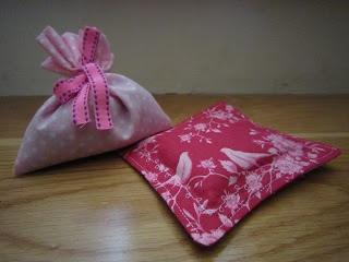 Atelier do Feltro: Sacos de alfazema e arroz / Little bag of lavander and rice