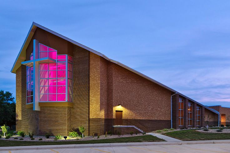 American Reformed Church Addition, Luverne, MN | designed by Architecture Inc.: Reformer Church, Church Addition, American Reformer
