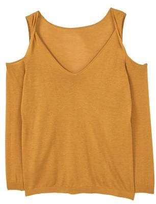 MANGO OUTLET Off shoulders sweater