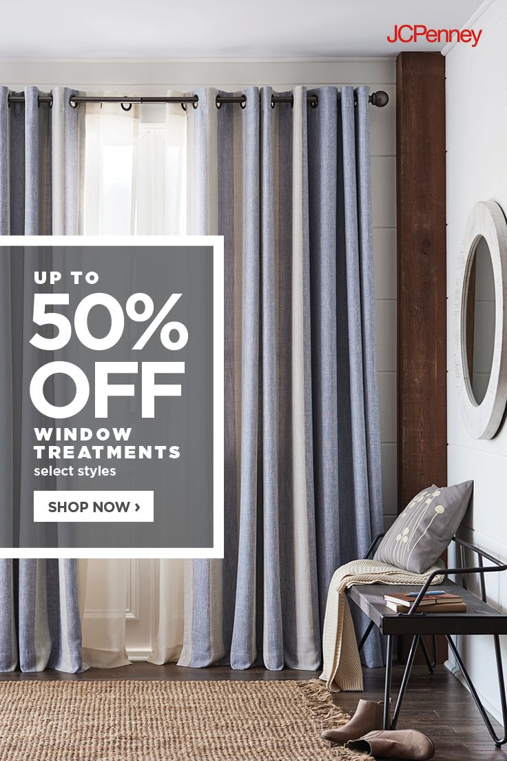 Jcpenney Is The Window Authority Add Dimension To Your Space