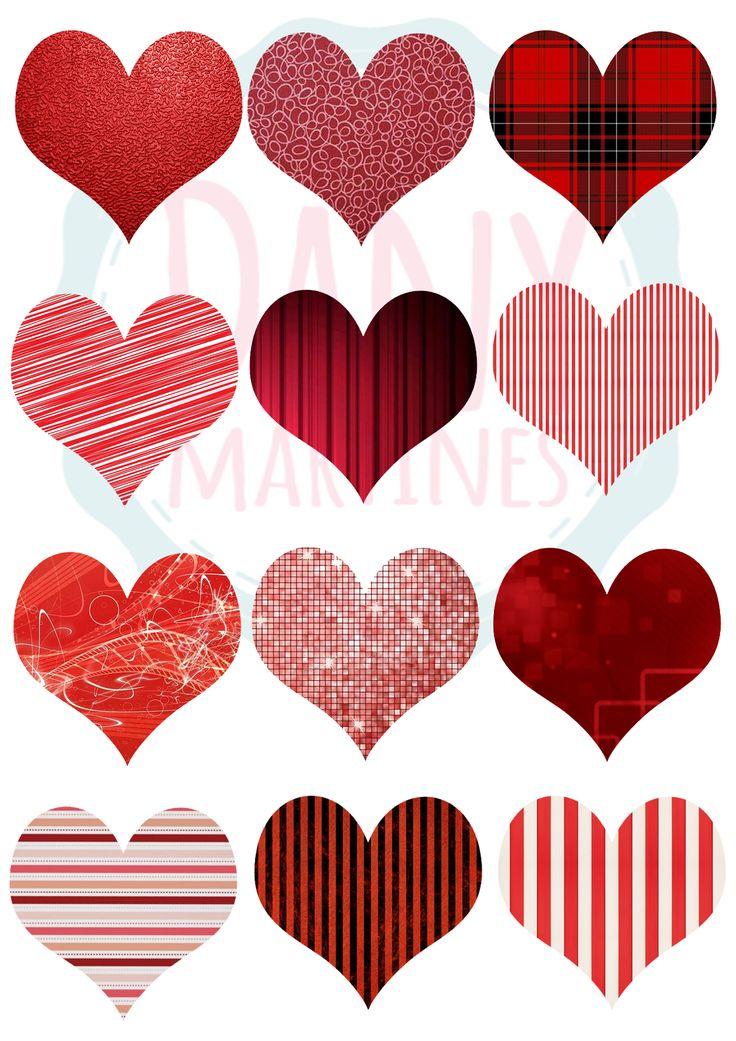 Corações para fazer o varal de coração Assista: https://www.youtube.com/watch?v=FH8NaFLKiTw