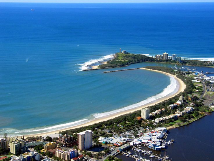 Mooloolaba Beach - my fav beach on the Sunshine Coast - Queensland - Australia