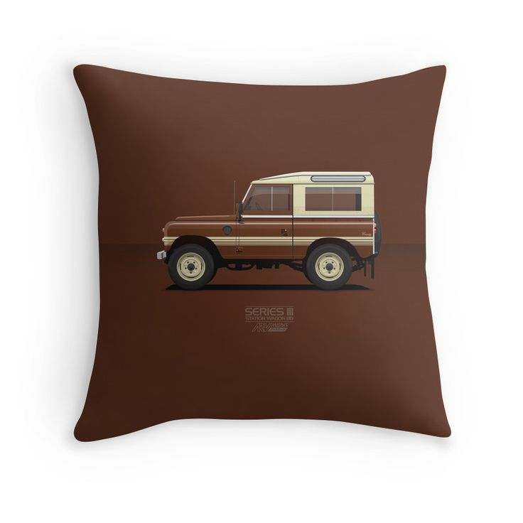 Series 3 Station Wagon 88 County Version  #landrover #landroverseries #redbubble @redbubble
