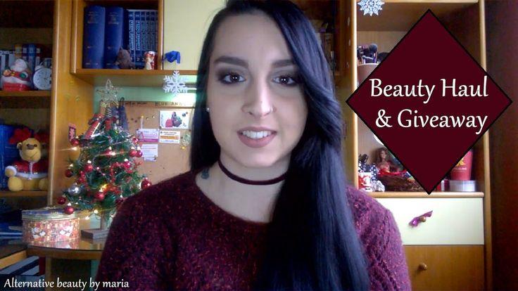 Beauty Haul part 1 & Giveaway| Alternative beauty