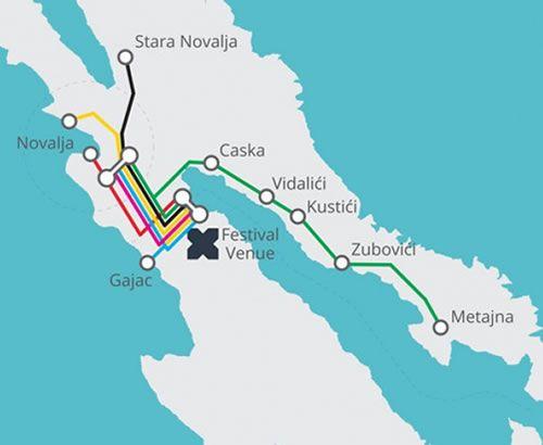 hideout bus route