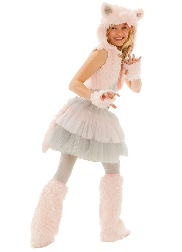 grace kitty child costume - Wolf Halloween Costume Kids