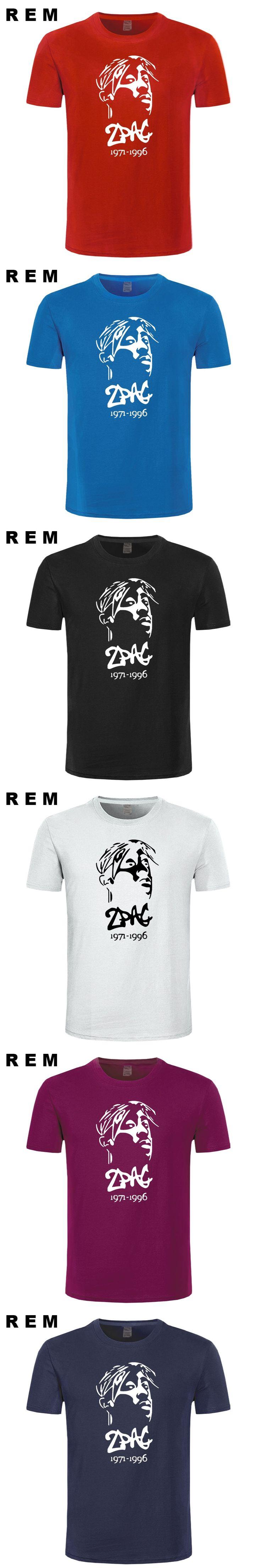 Thug Life Tupac 2PAC Hip-hop Rap Rock Mens Men T Shirt T-shirt Fashion 2016 New Short Sleeve O Neck Cotton Tshirt Tee