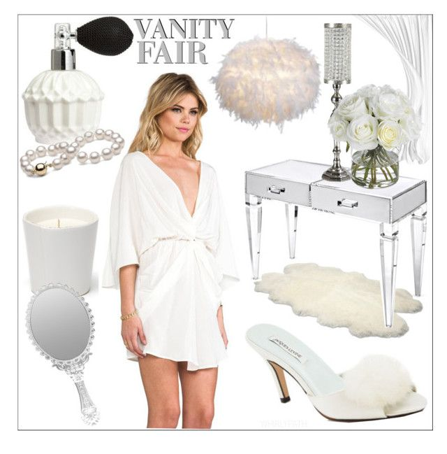 Vanity Fair! by whirlypath on Polyvore featuring interior, interiors, interior design, home, home decor, interior decorating, UGG Australia, Diane James, H&M and Talulah