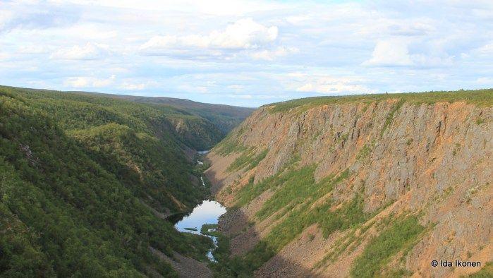 Kevon kanjoni kahdella tavalla, Utsjoki    #Retkipaikka #kevo
