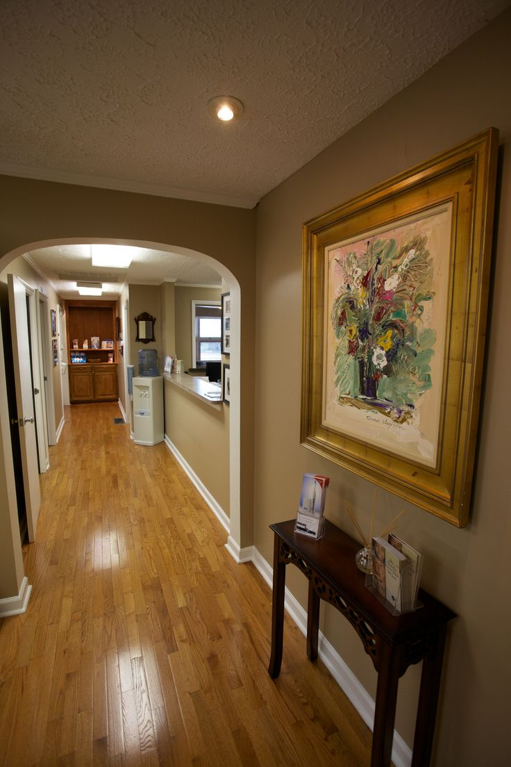 dental office design | Nashville dentist dental office hallway