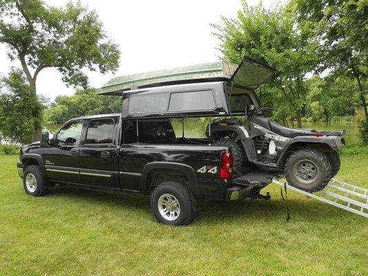 EZ lift lets truck bed cap rise, convert to camper                                                                                                                                                                                 More
