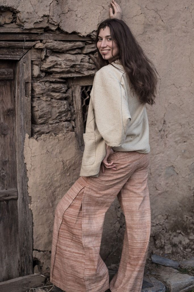 Hippie Khadi cotton pants For women /men by PrimitiveTribalCraft on Etsy https://www.etsy.com/listing/265524427/hippie-khadi-cotton-pants-for-women-men