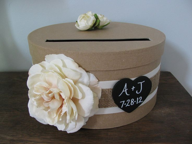 59 best card box images – Round Wedding Card Box