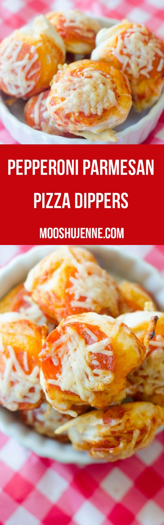 Pepperoni Parmesan Pizza Dippers