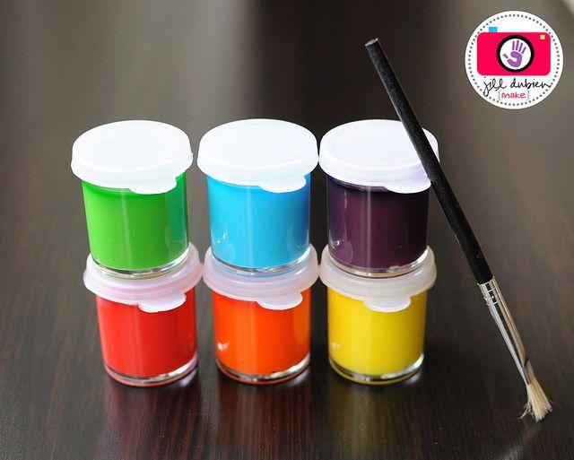 DIY Watercolors: Homemade Watercolor, Corn Syrup, Watercolor Paintings, White Vinegar, Baking Sodas, Water Color, Food Color, Rainbows Watercolor, Diy Stuff