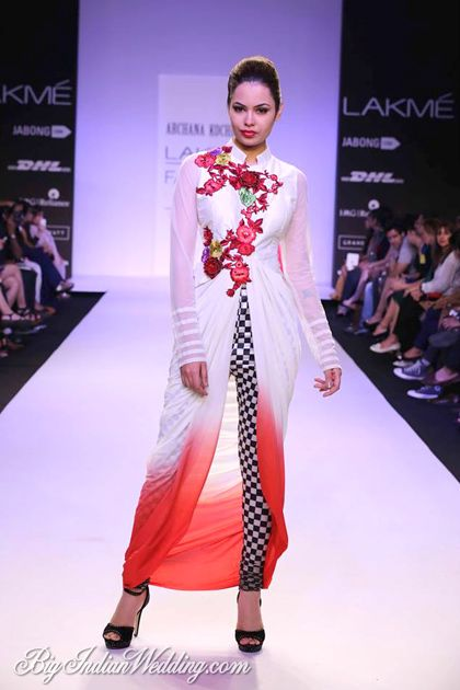 Great outfit for honeymoon travel of Archana's Kochhar honeymoon wear collection