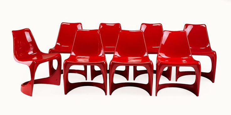 "The 290 Steen Ostergaard designed chair in Lip gloss ""postkasse"" mail box shiny Red, what seat color would you add?"