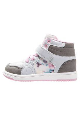 Sneakers high - grey/pink