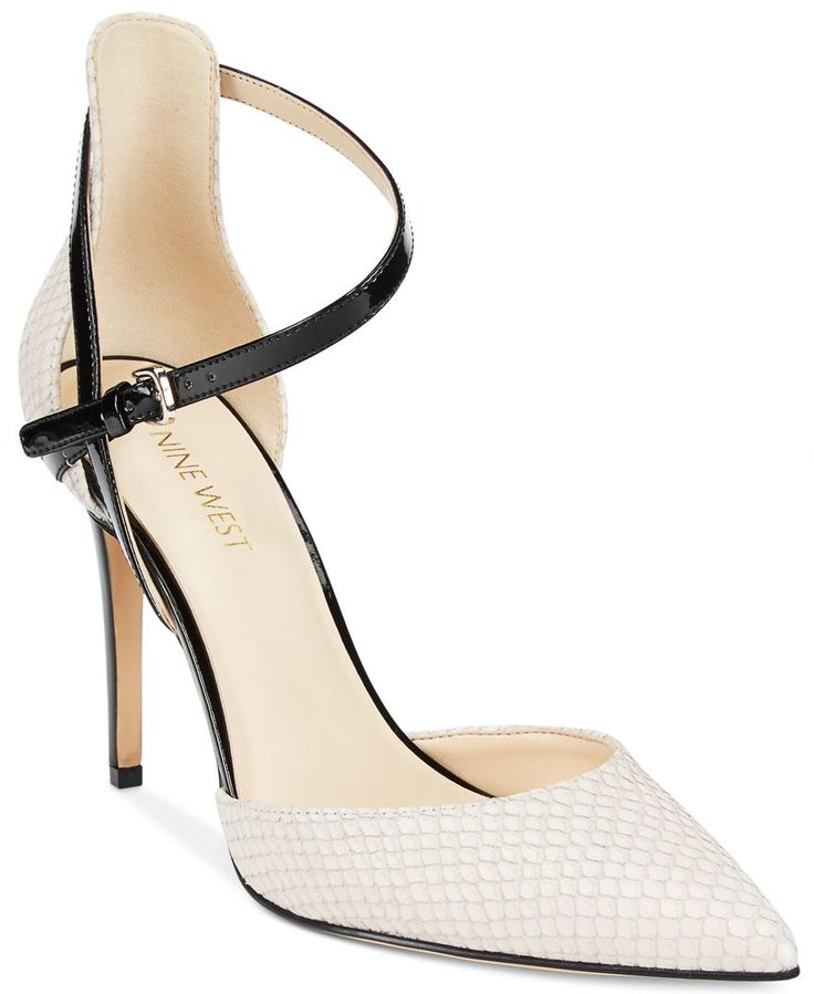 Nine West Taragon Strappy d'Orsay Pumps