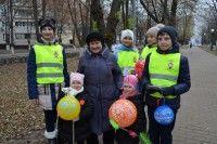 Сотрудники Госавтоинспекции провели акцию, посвященную Дню матери