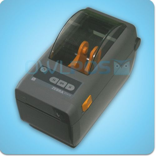 Zebra ZD410 Compact USB Thermal Barcode Label Tag Printer Refurbished