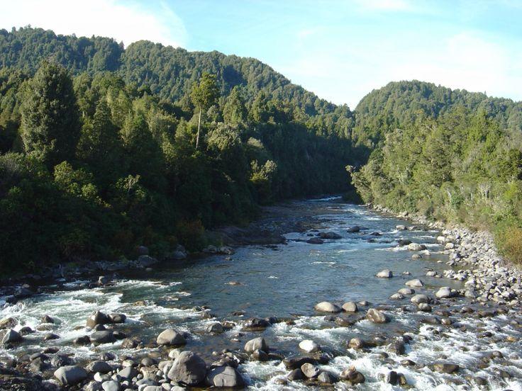 Whakapapa River, Ohinetonga. Owhango, New Zealand