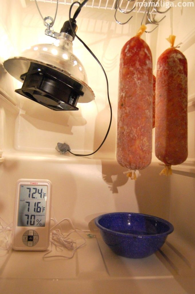 Charcuterie – Fermentation and Curing Chamber