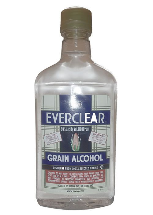 Liquor Barn - Everclear Grain Alcohol 190 Proof 375ML, $11.99 (http://www.theliquorbarn.com/everclear-grain-alcohol-190-proof-375ml/)