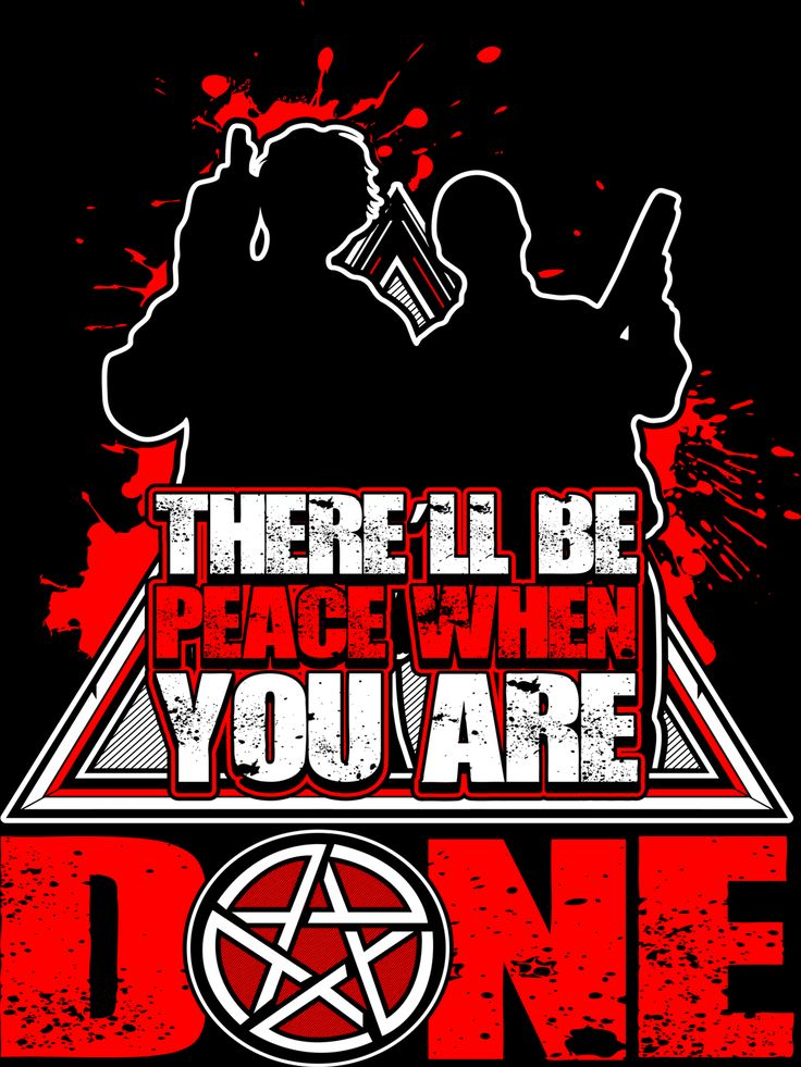 There'll Be Peace When You Are Done - Sticker
