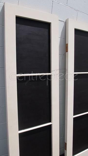 Seating Sign Blackboard Window Large