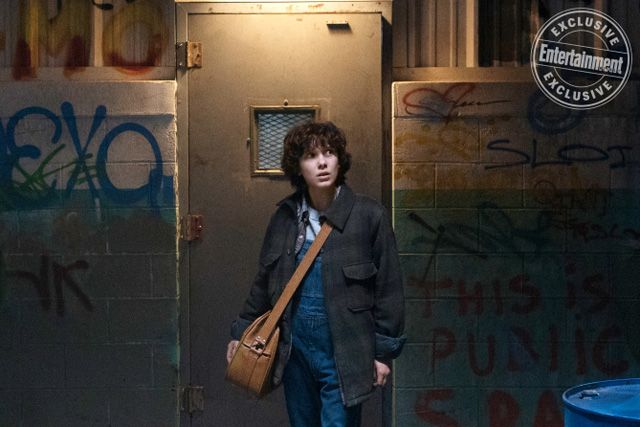 New Stranger Things Season 2 Photos Revealed   New Stranger Things Season 2 photos revealed  Netflixhas revealed (via EW) newStranger ThingsSeason 2 photos which you can view in our gallery below. The second season will hit the streaming service on October 27 2017 just in time for Halloween.  RELATED:Comic-Con: Stranger Things Season 2 Trailer is Here!  Stranger Things Season 2is set ayear after Wills return and everything seems back to normal but a darkness lurks just beneath the surface…