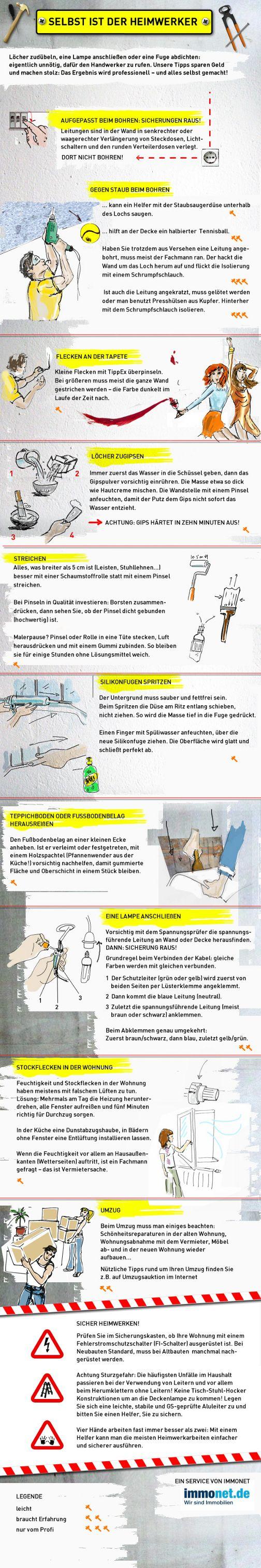 Tipps für Heimwerker: http://www.immonet.de/service/tipps-fuer-heimwerker.html #immonet hat die Tipps