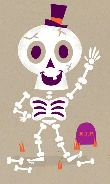 Halloween Wallpaper Bones