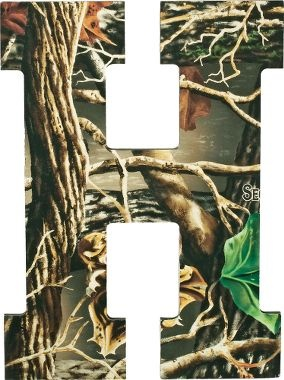 Letter Wall Art Letter Wall And Camo On Pinterest