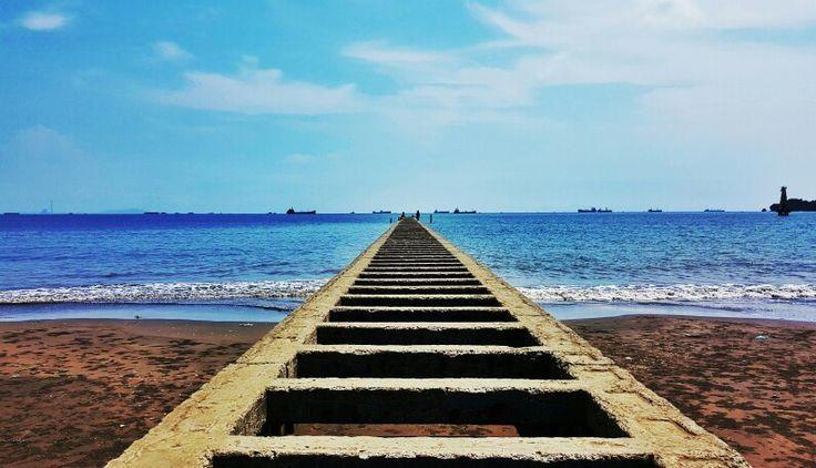 #telukpenyu #beach #cilacap #indonesia