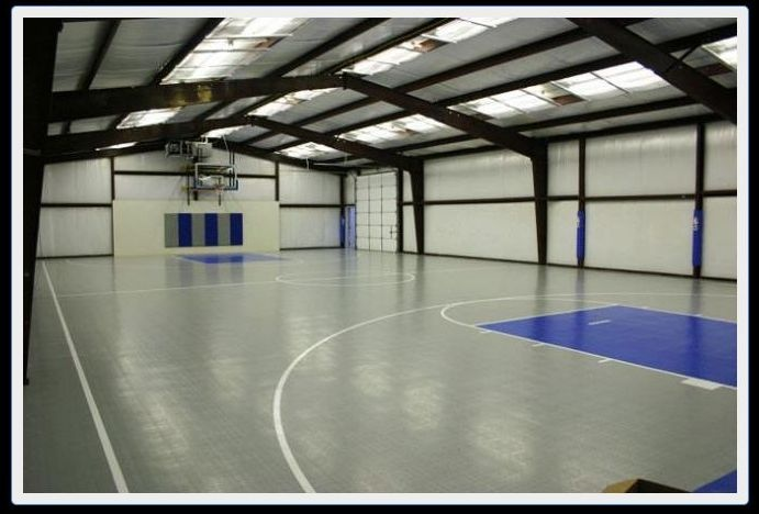 1000 images about indoor basketball tennis on pinterest for Indoor basketball court cost estimate