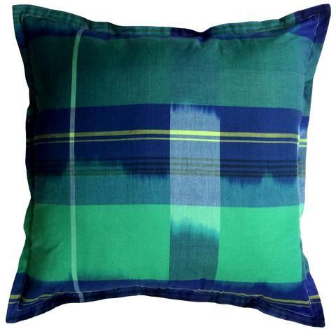 New Age Tartan cushion