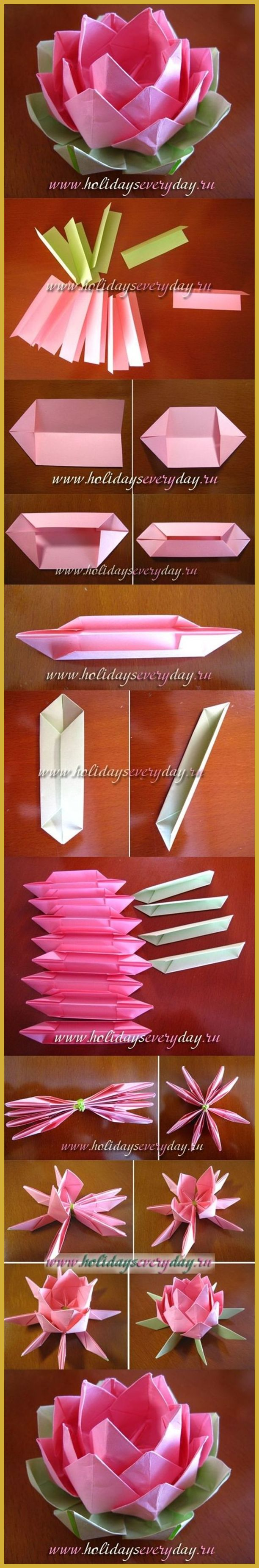 [Origami] How to Beat the Winter Blues by Creating Wonderful Items With Origami ** Read more at the image link. #OrigamiPaper