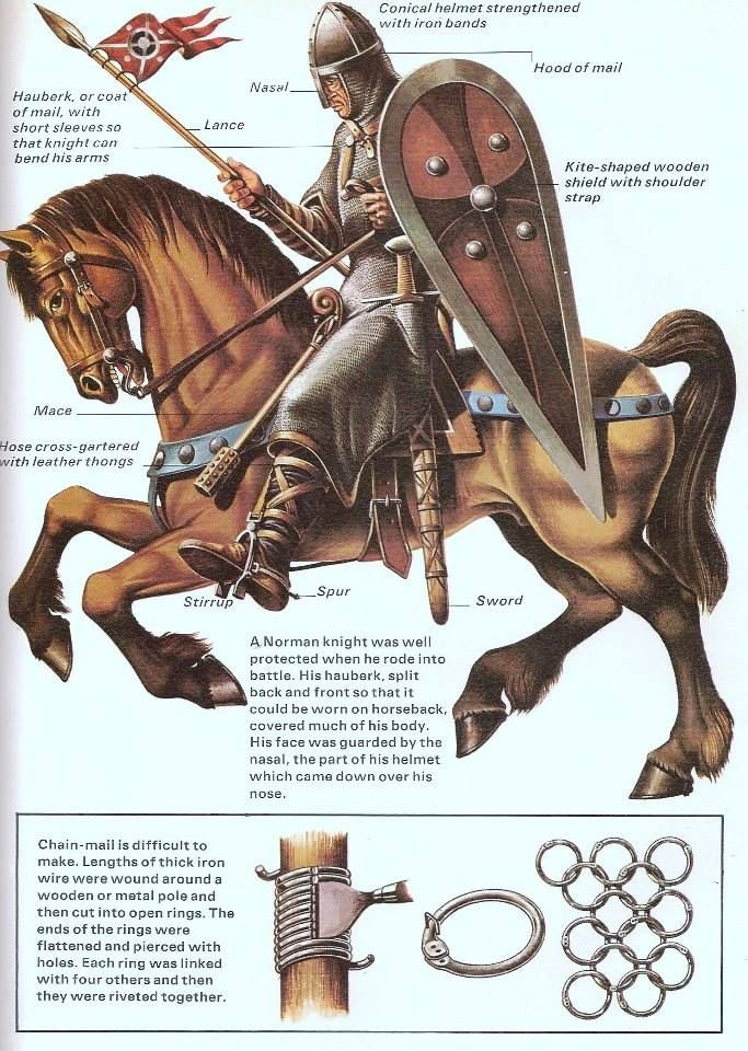 Norman Knight, 1066                                                       …