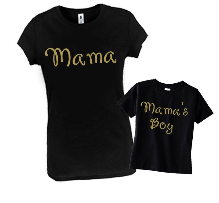 07aba817474b Mommy Son: Mama & Mama's Boy, Matching Mommy Son Outfit, Mommy and ...