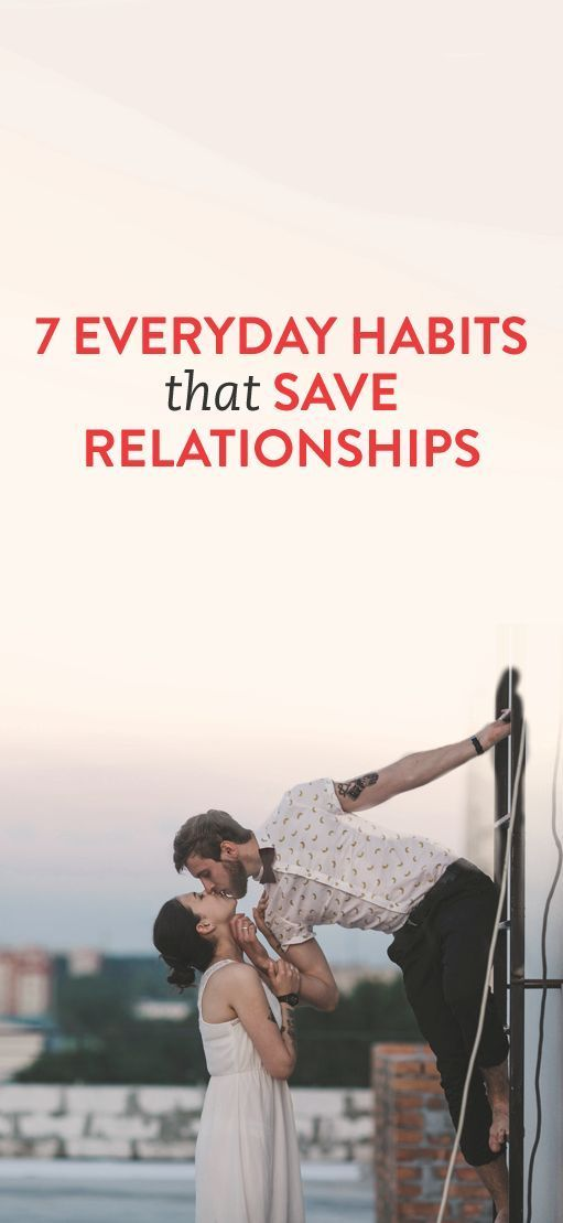 7 Everyday Habits That Save Relationships