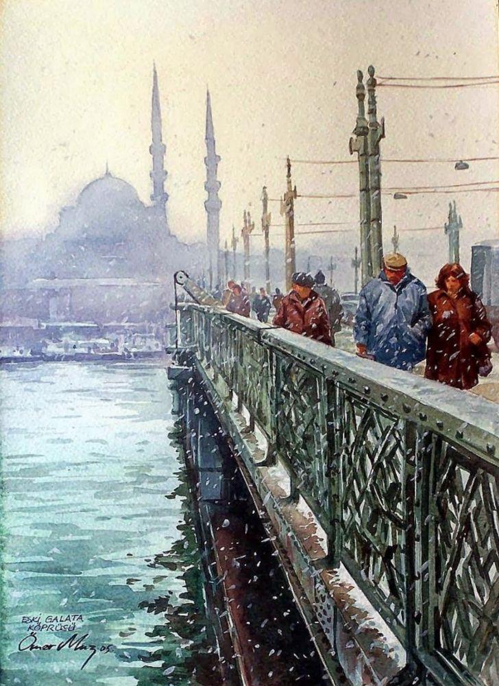 Eski Galata Köprüsü, Ömer Muz