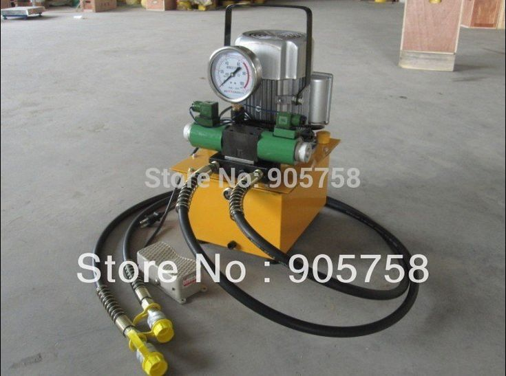 Double action electric hydraulic pump ZCB-700AB-2#hydraulic pump